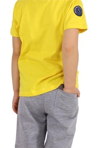 Silversun Kids Erkek Çocuk Belden Lastikli Örme Şort Sc 217757 Gri